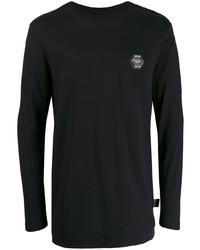 Philipp Plein Statet Long Sleeved T Shirt