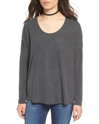 RVCA Sutherland Cutout Long Sleeve Tee