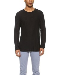 T by slub long sleeve t shirt medium 246897