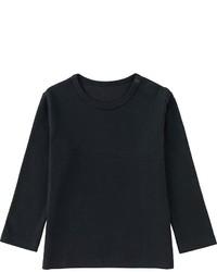 Uniqlo Toddler Crew Neck Long Sleeve T Shirt