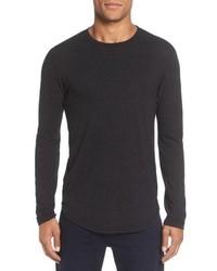 Goodlife Triblend Scallop Long Sleeve Crewneck T Shirt