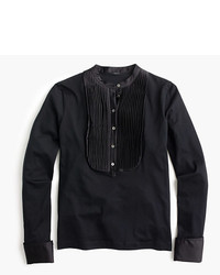 J.Crew Tuxedo Inspired Long Sleeve T Shirt