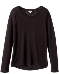 Splendid Littles Vintage Long Sleeve Tee Girls T Shirt