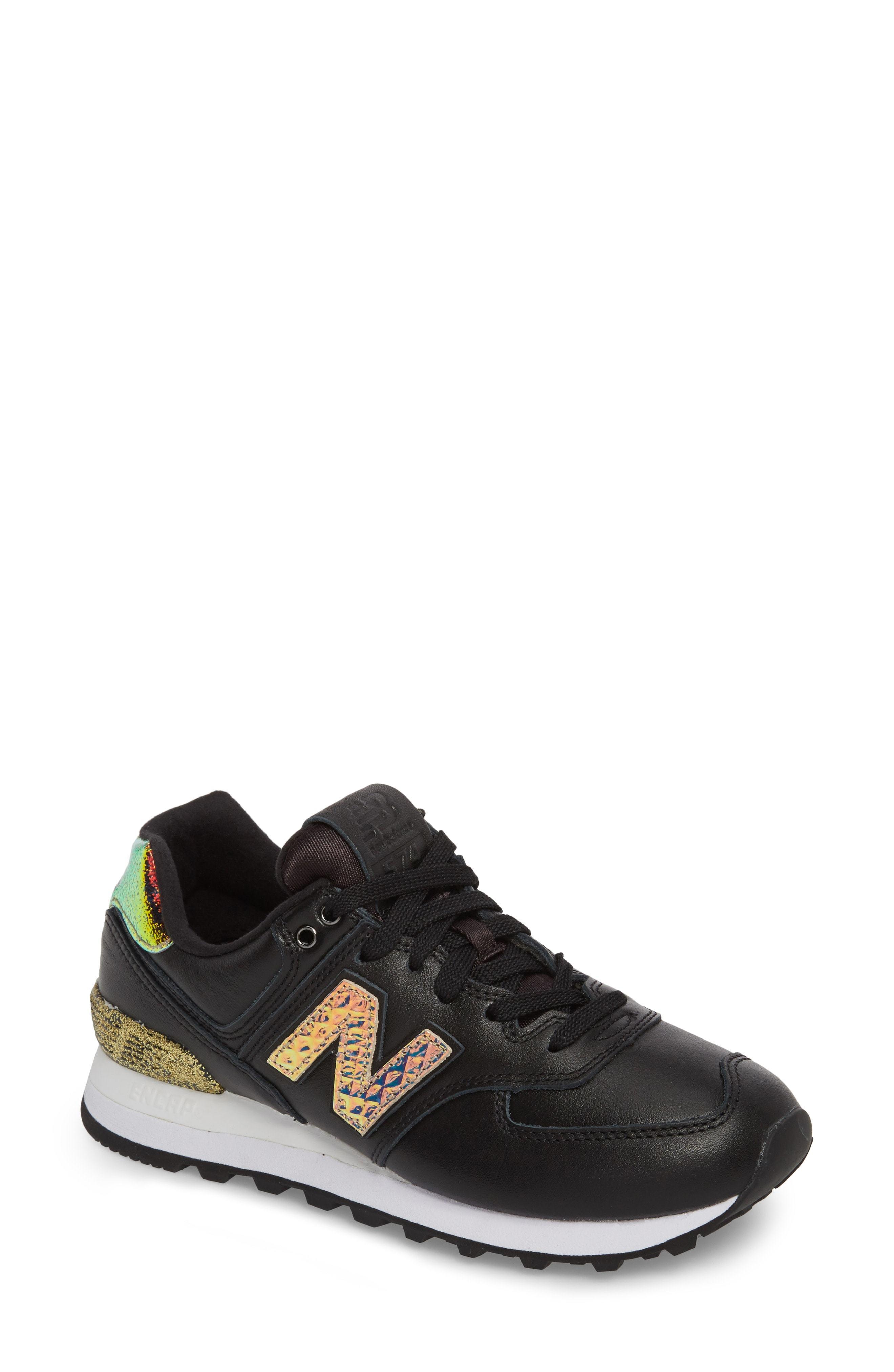 best sneakers 6d020 9e4fb 574 Glitter Punk Sneaker