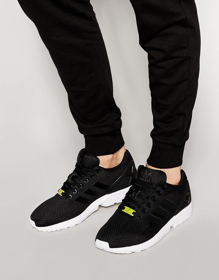 adidas originals zx flux womens black