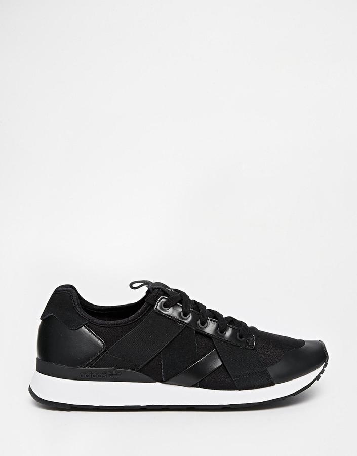 Black Low Top Sneakers: adidas Originals Ar 10 W Black Sneakers ...