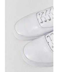 5b640665f5 ... Vans Authentic Italian Leather Monochromatic Sneaker ...