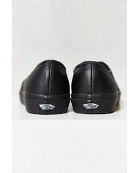 818a2f1a11 ... Vans Authentic Italian Leather Monochromatic Sneaker