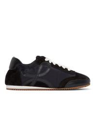 Loewe Black Ballet Sneakers