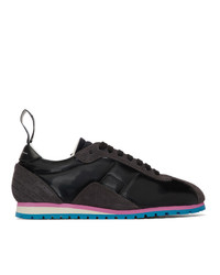 MM6 MAISON MARGIELA Black Retro Sneakers
