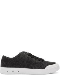 Rag & Bone Black Wool Standard Issue Sneakers