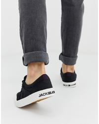 Jack & Jones Canvas Trainer With Chunky Sole