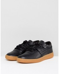 24c6d67e2245 ... Reebok Club Workout Gum Sole Sneakers In Black Bs6206 ...