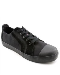 Dickies Perry Black Fabric Sneakers Shoes