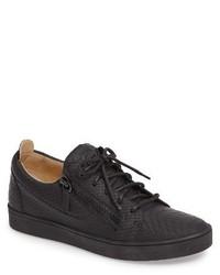 Embossed side zip sneaker medium 1247319