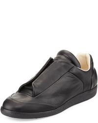 Future leather low top sneaker black medium 297587
