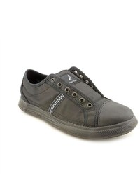 Nautica Taffrail Black Textile Sneakers Shoes
