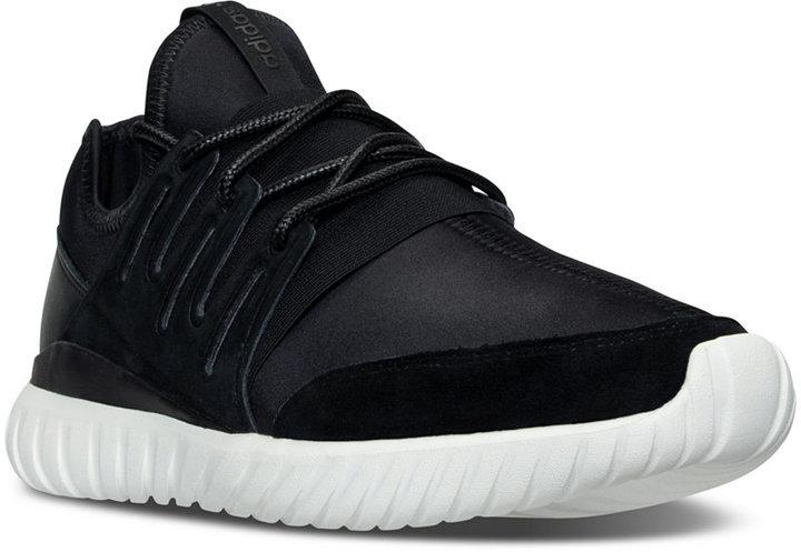 wholesale dealer 16152 1cc20 adidas Originals Tubular Radial Casual Sneakers From Finish Line,  109    Macy s   Lookastic.com
