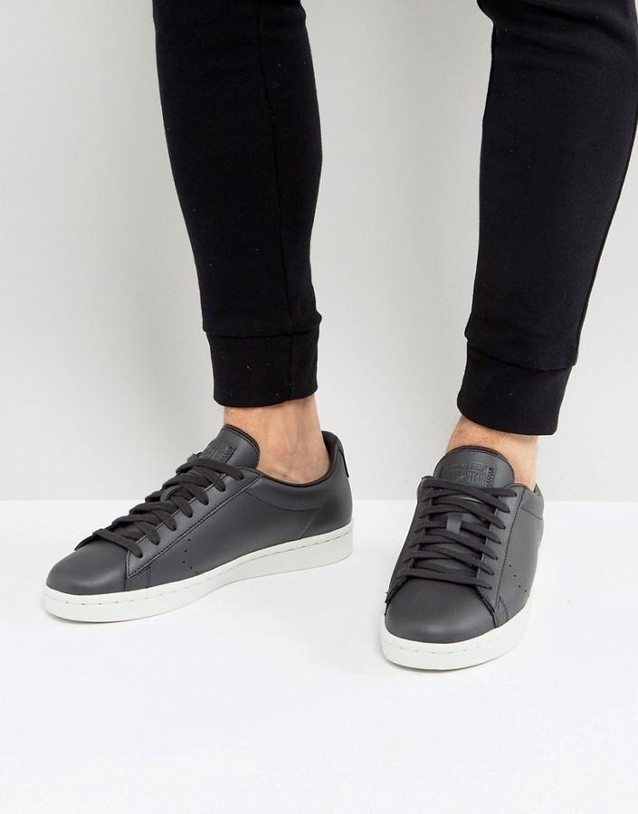 Converse Pl 76 Ox Sneakers In Black