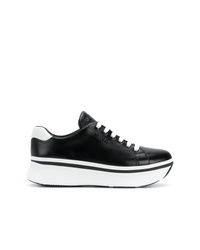 Prada Platform Low Top Sneakers