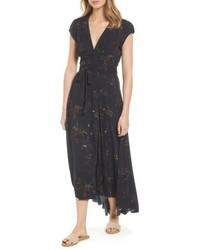 AG Jeans Ag Daphne Wrap Maxi Dress
