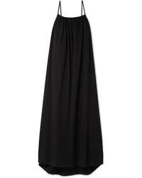 The Row Dresia Cotton Jersey Maxi Dress