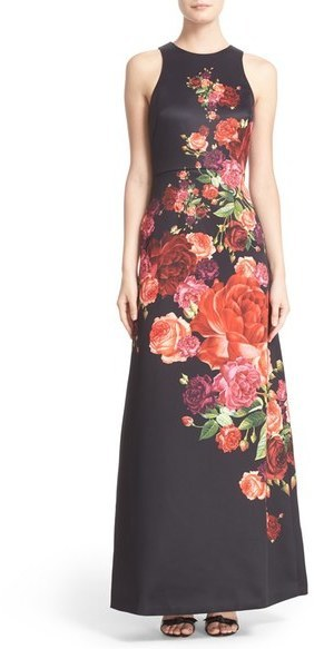 Ted Baker London Marico Juxtapose Rose Maxi Dress | Where to buy ...