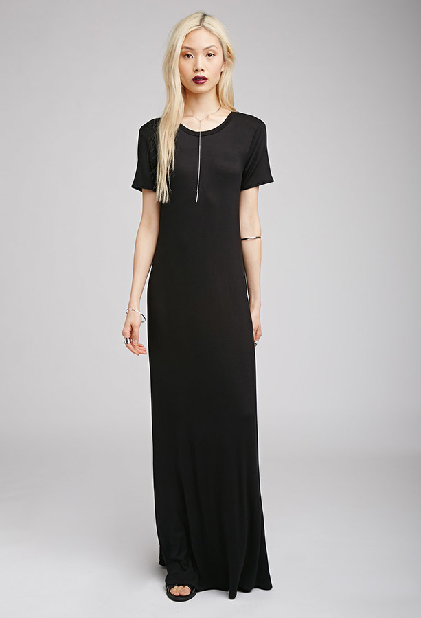 328965a9511 Forever 21 Maxi T Shirt Dress, $17 | Forever 21 | Lookastic.com