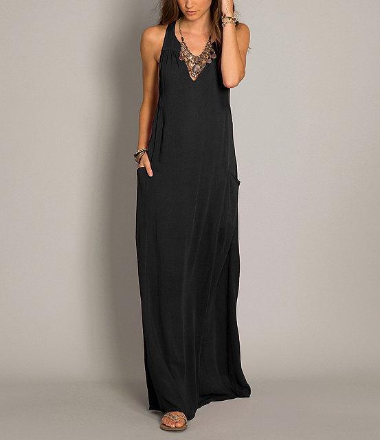 c86c205dba ... Black Maxi Dresses O Neill Neill Laurel Pocket Maxi Dress ...