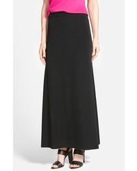Ming Wang A Line Knit Maxi Skirt