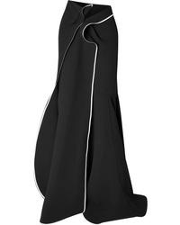 Maticevski Aficionado Asymmetric Cady Maxi Skirt