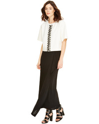 DKNY Cascade Maxi Skirt