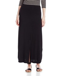 Kensie Light Weight Viscose Spandex Maxi Skirt