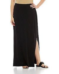 MICHAEL Michael Kors Michl Michl Kors Woman Side Slit Knit Maxi Skirt