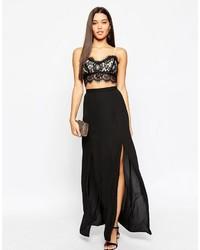 Asos Spliced Maxi Skirt