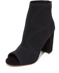 Acko peep toe booties medium 953074