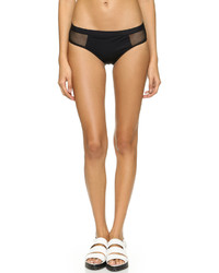 Alexander Wang T By Mesh Matte Bikini Bottoms