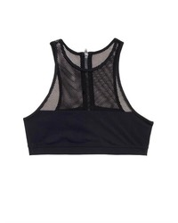 Alexander Wang T By Mesh Panel Bikini Top