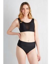 Venice Rani Llc Sol Mates Swimsuit Top In Black