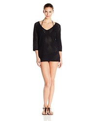 Eco Swim By Aqua Green Eco Friendly Mesh Coverup