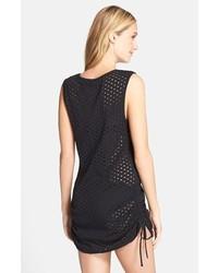 d54b64698e Eco Swim Side Shirred Mesh Cover Up Dress, $68 | Nordstrom ...