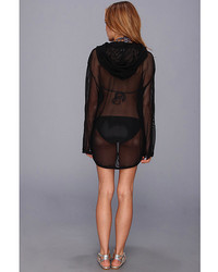 Vince Camuto Glamorous Outdoors Hoodie Cover Up