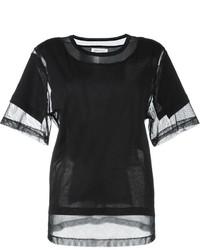 Maison Margiela Panelled Mesh T Shirt