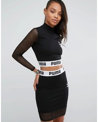 Puma To Asos Cropped Mesh Top Co Ord