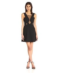 BCBGMAXAZRIA Bcbgmax Azria Britney Cocktail Dress With Mesh