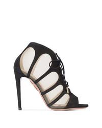 Aquazzura Mesh Detail Sandals
