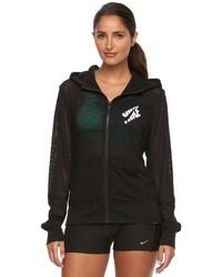 Nike Mesh Full Zip Hoodie