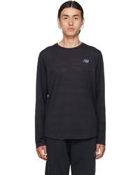 New Balance Black Q Speed Fuel Long Sleeve T Shirt