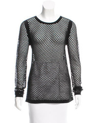 Helmut Lang Mesh Knit Top