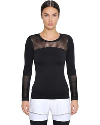 adidas by Stella McCartney Performance Seamless Climalite Mesh Top